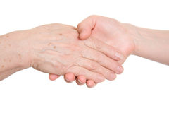 Handshake. Royalty Free Stock Photo