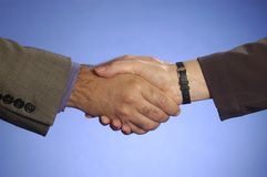 Handshake 2 Royalty Free Stock Photos