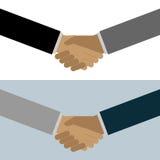 Handshake. Illustration of a business male handshake. EPS file available stock illustration