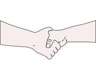 The Handshake. Royalty Free Stock Image