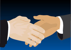 Handshake stock illustration