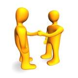 Handshake 3D Stock Image
