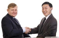 Handshake. Stock Photos