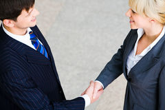 Handshake Royalty Free Stock Photo