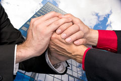 handshake zdjęcie stock