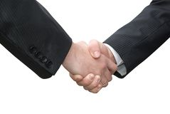 Handshake Royalty Free Stock Photos