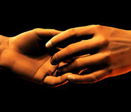 Handshake. This is a handshake Stock Photos