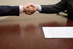 handshake zdjęcie royalty free