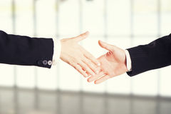 handshake fotografia stock