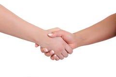 handshake vektor illustrationer