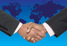 Handshake. Royalty Free Stock Images