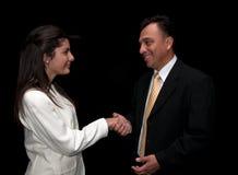 The handshake Stock Photography