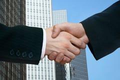 A handshake Stock Image