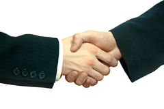 A handshake Stock Photography