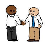 Handshake Agreement Royalty Free Stock Images