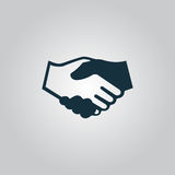 Handshake. background for business and finance Royalty Free Stock Images