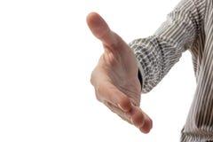 handshake Biznesowego biura pojęcia kopii przestrzeń dla reklamy zdjęcie stock