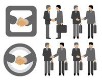 Handshake business Royalty Free Stock Images