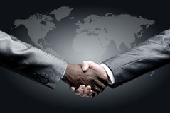 Handshake  on business Stock Photo
