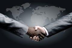 Handshake  on business Stock Photo