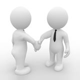 Handshake in business Stock Photography