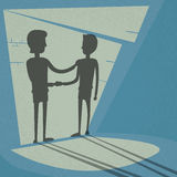 Handshake Business Hands Shake Black Deal Concept Stock Photography
