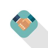 Handshake business icon Royalty Free Stock Photography