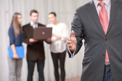 Handshake at the business meeting Stock Photography