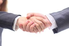 Handshake business men Royalty Free Stock Photography
