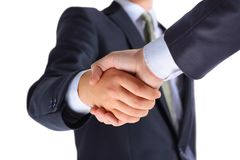 Handshake of business partners Royalty Free Stock Image