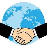 Handshake of business partners Royalty Free Stock Images