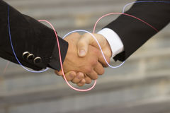 Handshake of business partners Royalty Free Stock Photo