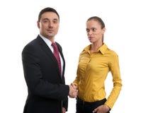 Handshake of business partners Stock Photo