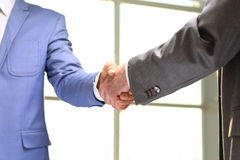 Handshake of business Stock Image