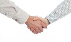 Handshake of business people Stock Images