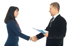 Handshake business people Royalty Free Stock Images