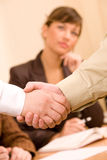 Handshake of business people Royalty Free Stock Image