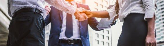 Handshake of business People stock photography