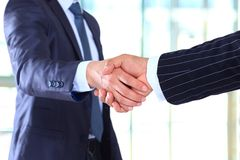 Handshake and business people Royalty Free Stock Photography