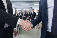 Handshake of business people Royalty Free Stock Photography