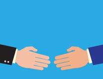 Handshake On Business Royalty Free Stock Photos