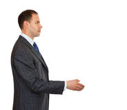 Handshake businessman. Stock Photo