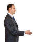 Handshake businessman. Stock Photo