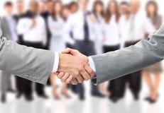 Handshake of businessman Royalty Free Stock Images