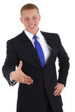 Handshake businessman Royalty Free Stock Photography