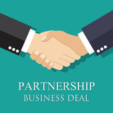 Handshake businessman agreement. Stock Photography