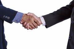 Handshake between Businessman Stock Photos