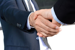 Handshake of businessmen Royalty Free Stock Images