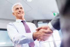 Handshake of businessmenoncepts - soft focus Stock Photo