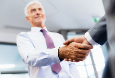 Handshake of businessmenoncepts - soft focus Royalty Free Stock Photos